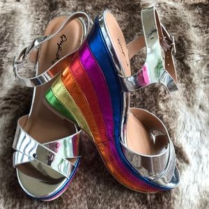 "🌈 Rainbow 🌈 ""Pride"" Sandals"